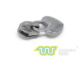 3# nylon zipper slider B and 10903 pull-tab