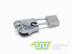 10# Nylon slider with double ring lock and 10110  pull-tab