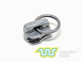 5# Auto Lock Metal zipper slider with 3cm Ring Puller