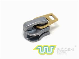 5# Metal Zipper Slider Auto Lock with Long Copper Connector
