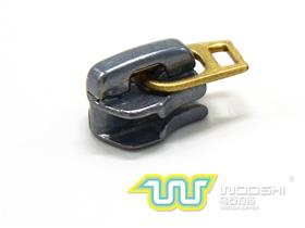5# Auto-lock metal zipper slider C