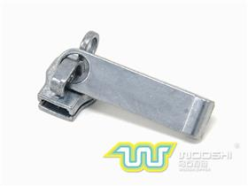 8# nylon slider with single ring lock and 10613 pull-tab