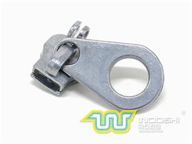 10# Nylon slider  with double ring lock and 10439 pull-tab