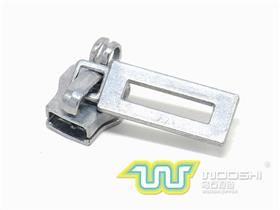 10# Nylon slider with double ring lock and 10703 pull-tab
