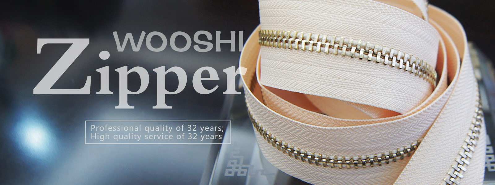 Nylon Zipper Wholesale - Wooshi Zipper